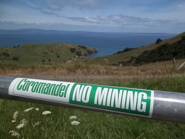 Coromandel No Mining Stickers - for sale in our online shop